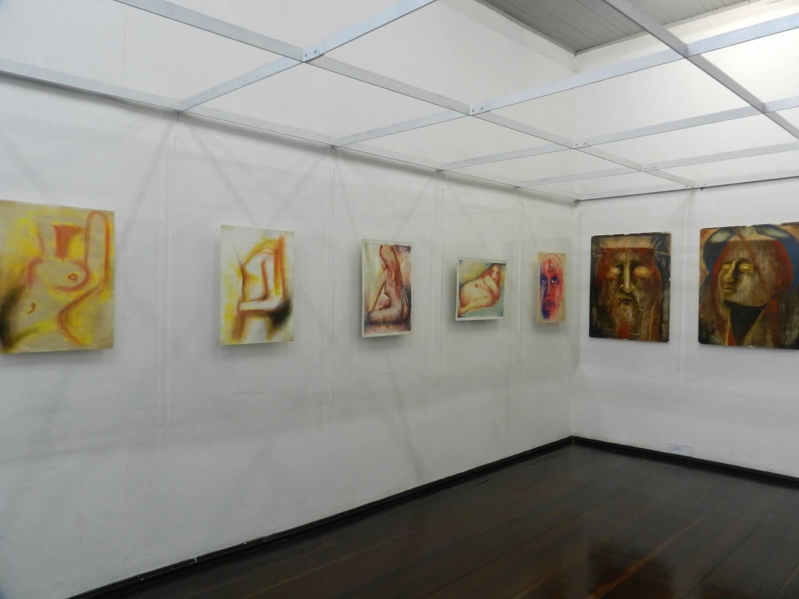 Museu de arte de Blumenau espaço interno